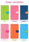 画像5: LG JOJO L-02K ケース 保護フィルム 付き au JOJO L-02K カバー カード収納 手帳 手帳型 JOJO L-02K 携帯ケース 携帯カバー おしゃれ デコ 耐衝撃 可愛い 合成レザー スマホケース JOJO L-02K VIVID(Orange) (5)