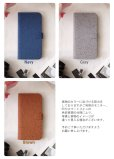画像5: LG JOJO L-02K ケース 保護フィルム 付き au JOJO L-02K カバー カード収納 手帳 手帳型 JOJO L-02K 携帯ケース 携帯カバー おしゃれ デコ 耐衝撃 可愛い 合成レザー スマホケース JOJO L-02K CORK(Brown) (5)