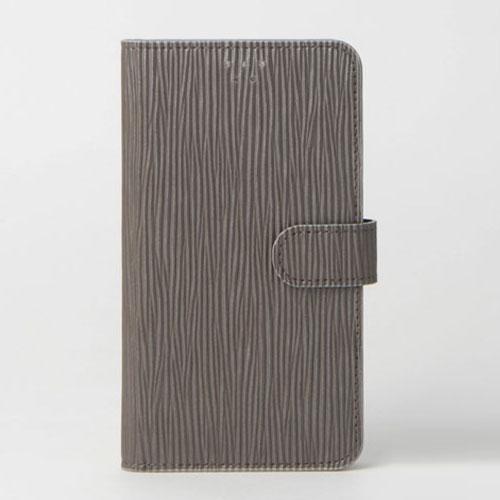画像1: LG JOJO L-02K ケース 保護フィルム 付き au JOJO L-02K カバー カード収納 手帳 手帳型 JOJO L-02K 携帯ケース 携帯カバー おしゃれ デコ 耐衝撃 可愛い クラシック スマホケース JOJO L-02K CLASSIC(Gray)