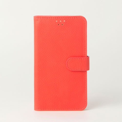 画像1: LG JOJO L-02K ケース 保護フィルム 付き au JOJO L-02K カバー カード収納 手帳 手帳型 JOJO L-02K 携帯ケース 携帯カバー おしゃれ デコ 耐衝撃 可愛い 合成レザー スマホケース JOJO L-02K COLORFUL(Peachpink)