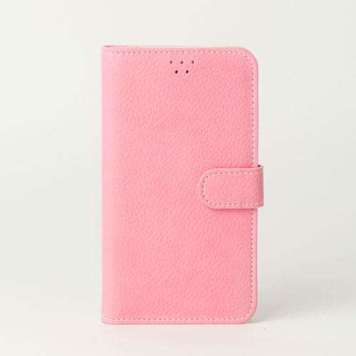 画像1: LG JOJO L-02K ケース 保護フィルム 付き au JOJO L-02K カバー カード収納 手帳 手帳型 JOJO L-02K 携帯ケース 携帯カバー おしゃれ デコ 耐衝撃 可愛い 合成レザー スマホケース JOJO L-02K COLORFUL(Pink)