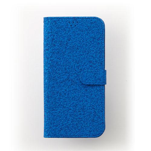 画像1: LG JOJO L-02K ケース 保護フィルム 付き au JOJO L-02K カバー カード収納 手帳 手帳型 JOJO L-02K 携帯ケース 携帯カバー おしゃれ デコ 耐衝撃 可愛い 合成レザー スマホケース JOJO L-02K CORK(Blue)