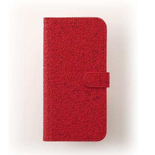 画像1: LG JOJO L-02K ケース 保護フィルム 付き au JOJO L-02K カバー カード収納 手帳 手帳型 JOJO L-02K 携帯ケース 携帯カバー おしゃれ デコ 耐衝撃 可愛い 合成レザー スマホケース JOJO L-02K CORK(Red)